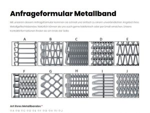 Anfrage Metallband