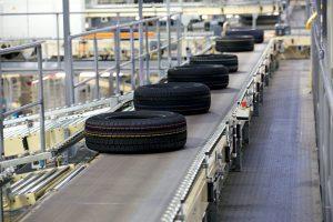 Reifenindustrie Transportband