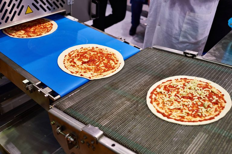 Messerkanten Band für Pizza