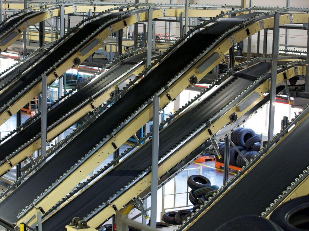 Bänder in der Reifenindustrie