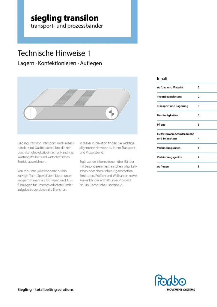 Technische Hinweise 1