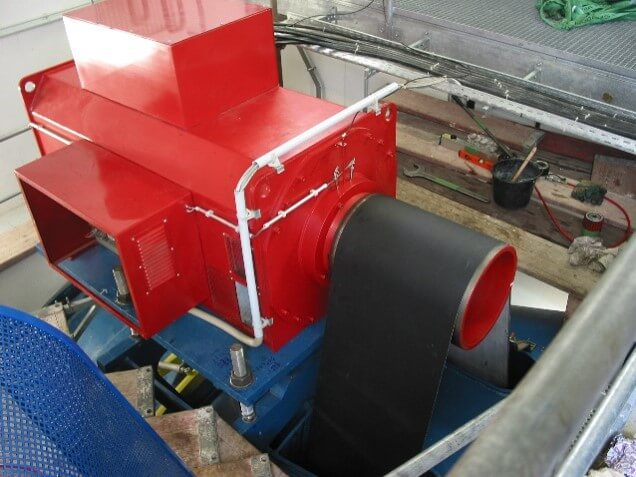 Wasserkraft-Turbine