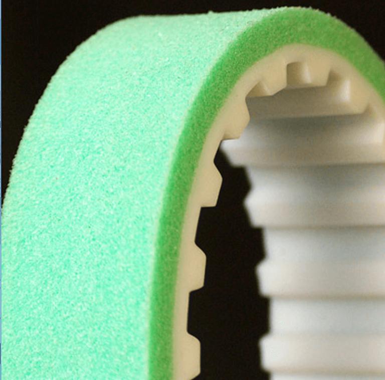 Zahnriemen mit Sylomerbeschichtung